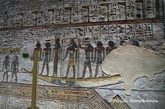 Amduat 5th hour (konde) Tags: amduat divinity god goddess ramsesiii 20thdynasty newkingdom tomb valleyofthekings kv11 ancientegypt relief thebes luxor mythology hieroglyphs