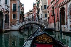 Evening gondola ride (matthew:D) Tags: venezia canal urban bridge travel wunderlust water italy venice gondola boat culture wonderlust