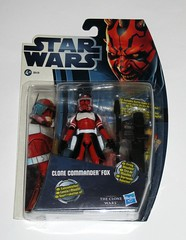 clone commander fox cw18 star wars the clone wars darth maul packaging card basic action figures figures 2012 hasbro mosc a damaged packaging (tjparkside) Tags: clone commander fox star wars cw18 18 tcw cw basic action figure figures 2012 coruscant guard phase 2 ii republic darth maul card galactic battle game display base stand collector firing missiles rocket launcher cannon blaster blasters pistol pistols missile clones red black white