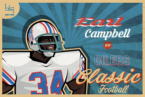 Earl Campbell nfl player