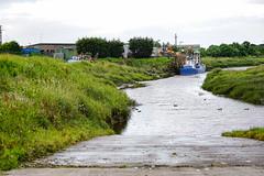 annan harbour (billdsym) Tags: annan scotland a6000 birds boats coast harbour repair river shore solway sony water