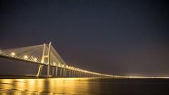 Ponte Vasco da Gama (Sebilatius) Tags: portugal lisbon lissboa vasco da gama ponte bridge reflection landscape samyang sony 12mm a5000 alpha