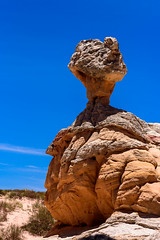 White Pocket Hoodoo (BFS Man) Tags: arizona d750 nikon whitepocket roadtrip rock