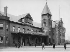 Album #2  02 (barrigerlibrary) Tags: dlw delawarelackawannaandwestern scranton pa pennsylvania railroad station