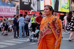 Times Square (dangaken) Tags: nyc newyorkny newyorknewyork ny empirestate bigapple usa unitedstates us america summer city urban indian india timessquare candid street people fuji fujiflim xmount dgaken dangaken photobydangaken