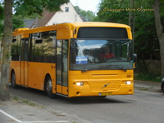 An extra summer in Copenhagen for 2004 Volvo B12BLE 3605 ex 4020 ex 8952 ex 6620 as a railbus (sms88aec) Tags: an extra summer copenhagen for 2004 volvo b12ble 3605 ex 4020 8952 railbus
