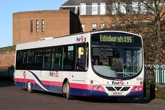 62355 SN51 MSV (Cumberland Patriot) Tags: first midland bluebird scotland east buses scania l94ub wright wrightbus solar eclipse urban sn51msv 62355 low floor bus x95 edinburgh carlisle
