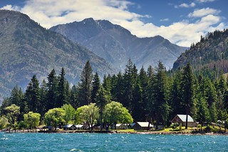 Nestled in the Mountains with Lake Chelan and the Okanogan-Wenatchee National Forest