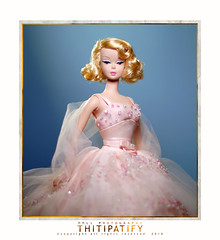 Blondie in the Pink (thitipatify) Tags: silkstone doll barbie robertbest classic couture romantic portrait