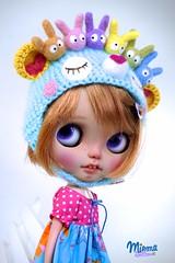 custom Helmet for Ana =) (Miema) Tags: miema miemadollhouse blythe helmet
