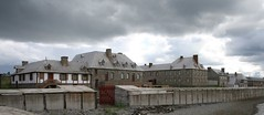 Fortress of Louisbourg, Nova Scotia/Forteresse de Louisbourg, Nouvelle Écosse (Andrew-1 (Thanks for 9000+ Favourites!)) Tags: fort military history historical historicalsite canada weather clouds raincloud crepescularrays cloudy