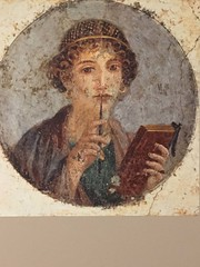 1-2 Codex and Craft at BGC (MsSusanB) Tags: pompeii poet frescoe naples codex bard bgc bardgraduatecenter books codices craft ancientworld history technology