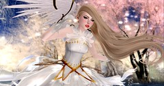 My Magical Heart (roxxiesukra) Tags: second life secondlife sl role play roleplaying rp character magical girl wings feathers magic angel water skipping flying fly dream glitter sparkle