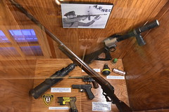 Springfield Calaboose Jail (Adventurer Dustin Holmes) Tags: 2018 springfield springfieldmo springfieldmissouri calaboose jail lawenforcement ozarks midwest museum old historic historical spd springfieldpolicedept springfieldpolicedepartment history police greenecounty interior inside armed tommygun machinegun shotgun smokegrenade rounds 1970s nightvisionriflescope nightvision riflescope scope 10gauge winchester leveraction 1922 taster 1stgeneration firstgeneration glock semiauto revolver handgun sidearm cat crisisactionteam patch shoulderpatch model1901 37mmgrenadelauncher grenadelauncher pistol antique weapons firearm firearms guns gun longgun longguns leo handguns
