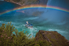 Under the Rainbow (A Great Capture) Tags: usa canada niagarafalls newyork ontario gorge hornblower river niagara rainbow agreatcapture agc wwwagreatcapturecom adjm ash2276 ashleylduffus ald mobilejay jamesmitchell toronto on canadian photographer northamerica torontoexplore spring springtime printemps 2016 eos digital dslr lens canon 70d natur nature naturaleza natura naturephotography naturethroughthelens waterscape wet water agua eau stream outdoor outdoors vibrant colorful cheerful vivid bright stone stones rock rocks depthoffield dof