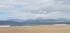 Beach and hills (barbaramartin1211) Tags: isleofharris scotland beach sand water sea hills mountains colour