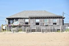 Second Choice (meg21210) Tags: cottage umbrella adirondack chairs obx kittyhawk nc northcarolina outerbanks beach sand