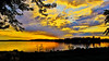 The Evening's Glow (Bob's Digital Eye) Tags: bobsdigitaleye canon canonefs1855mmf3556isll clouds flicker flickr h2o june2018 laquintaessenza lake lakesunsets lakescape landscape reflections silhouette skies sky sunsets t3i water sunset serene skyline