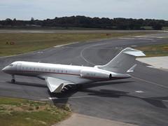 9H-VJV Bombardier Global Express 6000-BD-700 VistaJet Malta (Aircaft @ Gloucestershire Airport By James) Tags: luton airport 9hvjv bombardier global express 6000bd700 vistajet malta bizjet eggw james lloyds