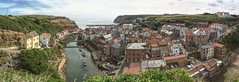 Staithes, North York Moors National Park (EricMakPhotography) Tags: yorkshire staithes panorama river sony full frame hdr