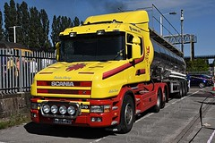 'The Yorkshireman' (ekawrecker) Tags: 4472 truck tanker h2o steam locomotive torpedo refreshment break