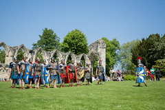 2016-06-05 - 20160605-018A8201 (snickleway) Tags: roman yorkshire museumgardens yorkromanfestival canonef1740mmf4lusm historicalreenactment park soldier york england unitedkingdom gb