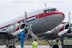 DDA_DC-3_PH-PBA_20180715_LBC-18 (Dirk Grothe | Aviation Photography) Tags: classic dutch dakota dc3 phpba lbc lübeck dda