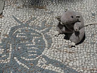 Mosaics at Ostia, Italy
