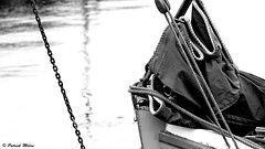 Black sail (patrick_milan) Tags: black sail light rope pulley sea water mer ocean