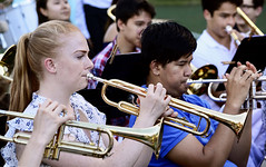 Pomp and Circumstance (rachel.roze) Tags: hanover graduation hanoverhighschool june2018 school hhswindensemble rebecca trumpet playing quinn