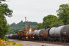 Getting Into Place (nrvtrains) Tags: christiansburgdistrict ethanol 6w4 cambriast christiansburg cambria railgrinder loram norfolksouthern load virginia unitedstates us