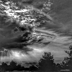 sky (Massimo Vitellino) Tags: skyland sky outdoors nature hdr blackandwhite cloudscape sun abstract conceptual contrast lights shadows perspective