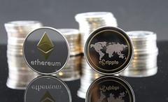 Ethereum Ripple Crypto Coin Stock Photo (Crypto360) Tags: bitcoin cryptocurrency crypto cryptocoin btc net pay background bank banking blockchain business cash coin coins commerce concept currency decentralized digital economy electronic eth ether ethereum exchange finance financial gold growth internet investment market mining money network online payment ripple silver stack symbol trade virtual web xrp