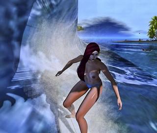 Surfing Mandy by Rachel