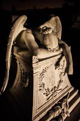 Day After Tomorrow (Thomas Hawk) Tags: america bayarea california colma cypresslawn cypresslawncemetery cypresslawnmemorialpark southbay usa unitedstates unitedstatesofamerica westcoast angel cemetery night sculpture fav10