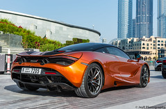 McLaren 720S (JayRao) Tags: dubai uae arab supercar jayr february 2018 nikon d610 nikkor 2470 fx v8 turbo mclaren 720s burj khalifa