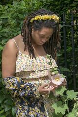 DSC_4079 John Wesley Chapel City Road London with Alesha with Jamaican Dreadlocks Portrait (photographer695) Tags: john wesley chapel city road london alesha with jamaican dreadlocks portrait