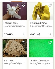 Check out my new Etsy Shop for cheap Origami Papers and Tools. (Phạm Hoàng Tuấn) Tags: paper artpaper art origami orikata origamiart papercraft origamishop origamipaper diy handmade handcraft hanji washi thaiunryu papershop tissuefoil tissuepaper dragon ryujin paperfolding facebook phamhoangtuan hoangtuanorigami origamustore craft kraftpaper calligraphy foil bakingpaper baking