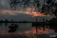 Folded wings (mathieuo1) Tags: vietnam asia east world mekong delta south landscape seascape scape waterscape shore water river sun sunset sundown dawn sunlight sunbath inspiration illustration light illumination available view wide panorama great awesome wideangle angle nikon dlsr fullframe photography camera zoom boat people explore discover trael graphism fineart travel art artlight artistic details composition rules morning peace work mathieuo