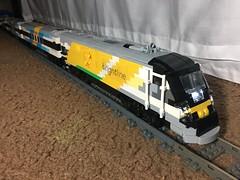 #LEGOBrightline (TolgaEastCoast) Tags: lego train brightline gobrightline passenger moc own creation town city florida east coast fec miami fort lauderdale west palm beach