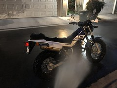 Yamaha TW200 Wash And Prep May 2018 (GCRad1) Tags: yamaha tw200 wash prep clean air filter unifilter uni chain lube motorcycle dualsport