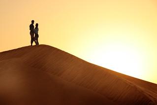 Alex & Julia in the Desert
