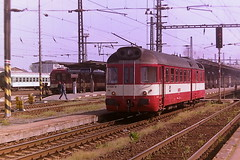 CD 851020-8 (bobbyblack51) Tags: cd class 851 studenka diesel railcar 8510208 olomouc station 2006