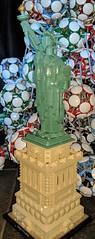 Happy4th-3 (Daddy Ogre) Tags: lego 4th july liberty statue eiffel technic geodesic