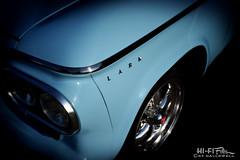 Compact Studebaker (Hi-Fi Fotos) Tags: studebaker lark blue chrome badge 60s american vintage classiccar compact packard wheel nikon d7200 dx hififotos hallewell