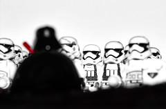 Darth Vader's Monologue (Ralph_H) Tags: lego legofan legostarwars darth vader blackwhite pain strength