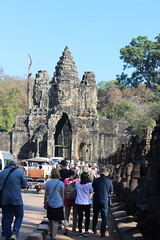 Angkor Thom, Entry Gate (Buster&Bubby) Tags: unescoworldheritagesitemountmeru entrygate siemreap angkorthom cambodia banyontemple khmerempire unesco world heritage site unescoworldheritagesite