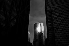 Metropolis 1 (marq4porsche) Tags: metropolis city urban building architecture sf san francisco bw black white blanc noir contrast afternoon flair sun reflection sky drama california canon eos 6d 50mm 12 l