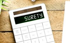 surety (mikecohen1872) Tags: surety calculator logo