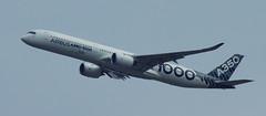 D18941.  Airbus A350-1000 XWB. (Ron Fisher) Tags: aircraft airliner airbus airbusa3501000xwb farnboroughairshow aeroplane airshow